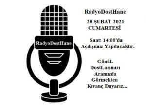 Canlı Radyo RadyoDostHane Açılış