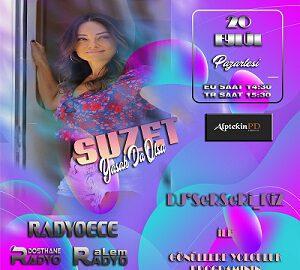 SUZET RadyoEce'de Dj'SeRSeRi_KiZ'in Canlı Bağlantı Konuğu